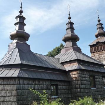 cerkiew w Szczawniku., violus