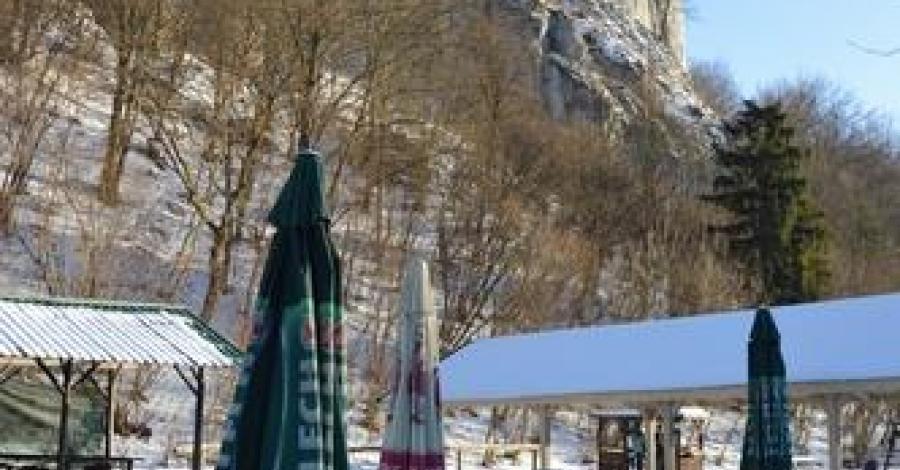 Dolina Będkowska zimowo - zdjęcie