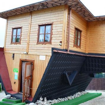 Dom do góry nogami w Zakopanem - zdjęcie