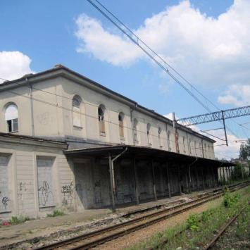 Zabytkowy Dworzec Kolejowy w Sosnowcu