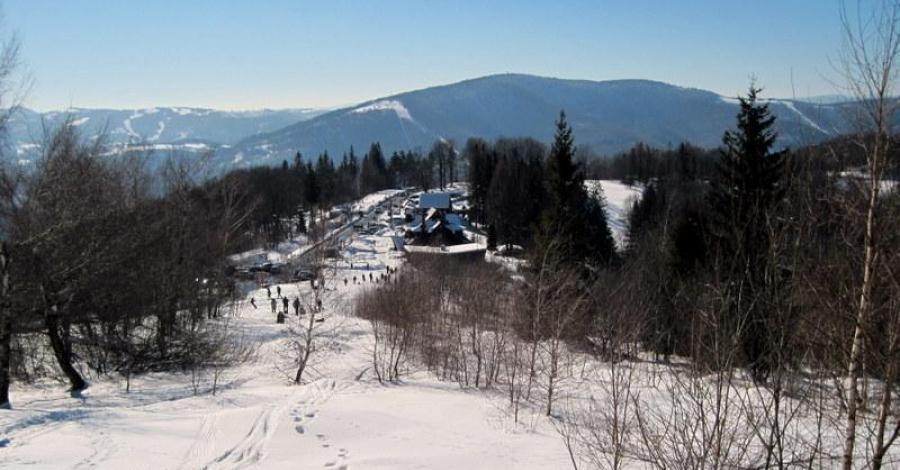 Beskid Śląski - Równica zimą - zdjęcie