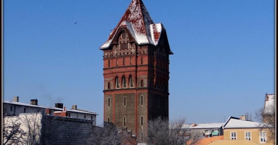 Wieża ciśnień w Chełmży - zdjęcie