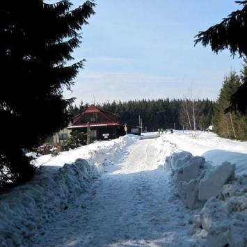 Beskid Śląski - Wielka Czantoria zimą