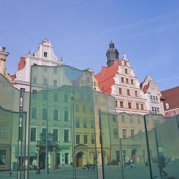 Fontanna we Wrocławiu, jeszcze nieczynna