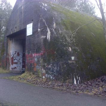 Bunkry kolejowe w Konewce i Jeleniu - zdjęcie
