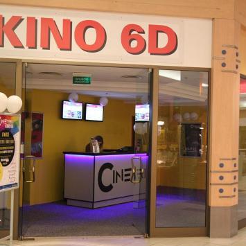 Kino 6D Cinetrix w Warszawie