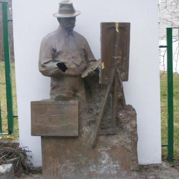 Pomnik Wojciecha Kossaka w Juracie