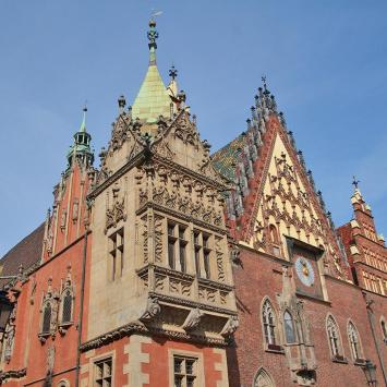 Ratusz we Wrocławiu - zdjęcie