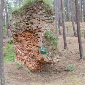 Ruiny kościoła Św. Mikołaja w Łebie