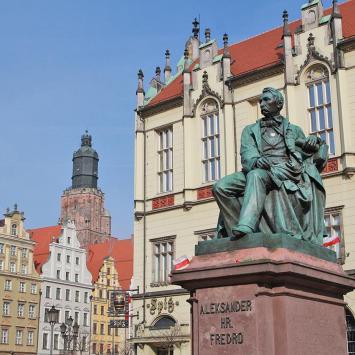 Rynek we Wrocławiu - zdjęcie