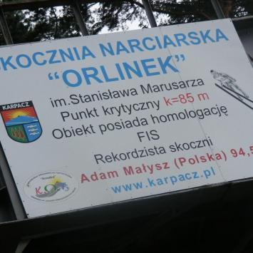 Skocznia narciarska Orlinek w Karpaczu