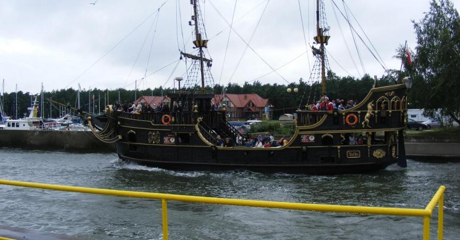 Rejs statkiem Gryf w Łebie - zdjęcie