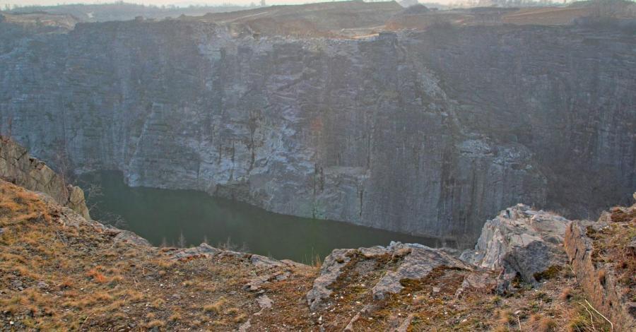 Kamieniołom granitu w Strzelinie - zdjęcie