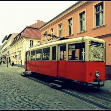 Tramwaj w Bydgoszczy