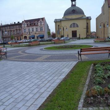 Rynek w Kruszwicy