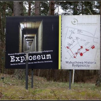 Exploseum w Bydgoszczy