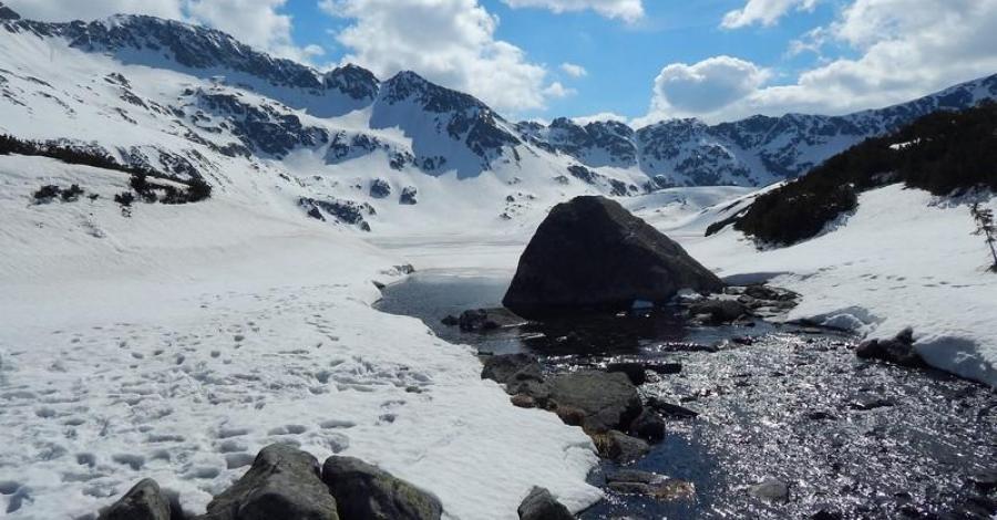 Wiosenno-zimowa Dolina Pięciu Stawów - zdjęcie