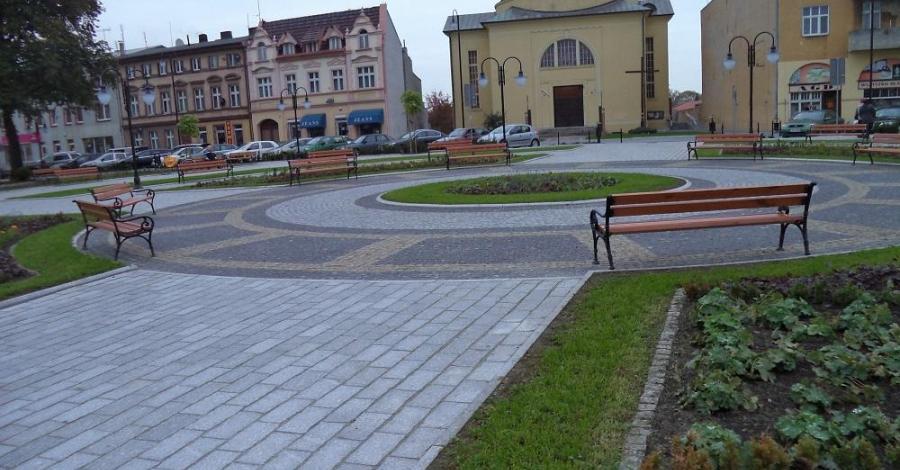 Rynek w Kruszwicy - zdjęcie