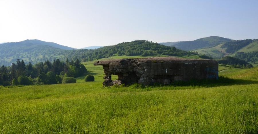 Fort Wyrwidąb w Węgierskiej Górce - zdjęcie