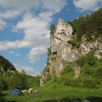 Dolina Kobylańska na Jurze