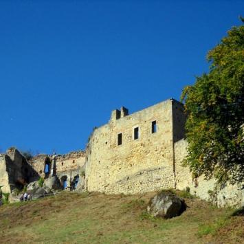 Zamek Kamieniec w Korczynie - Odrzykoniu - zdjęcie