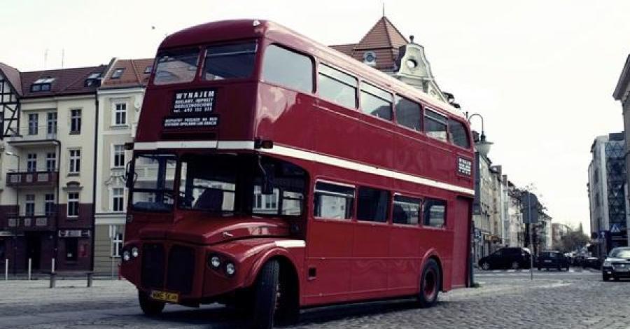 Londyński Autobus w Opolu - zdjęcie