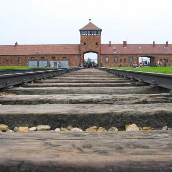 Obóz Birkenau - zdjęcie