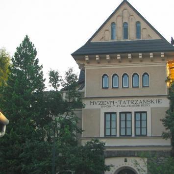 Krupówki Muzeum Tatrzanskie
