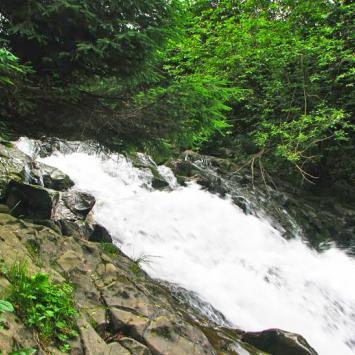 Wodospad w Sopotni Wielkiej - zdjęcie