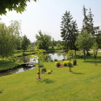 Park nad Wieprzem w Szczebrzeszynie