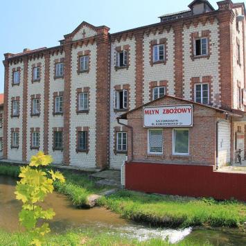 Młyn w Szczebrzeszynie