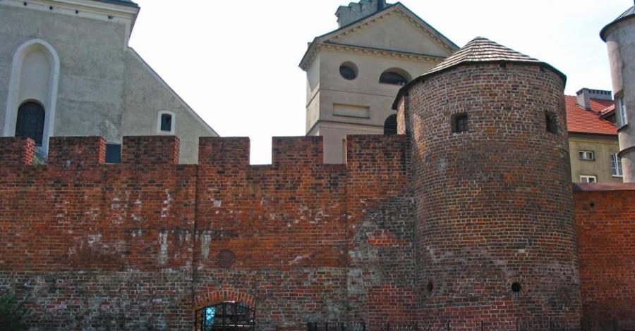 Mury obronne w Kaliszu - zdjęcie