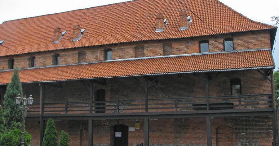 Zamek w Nowem - zdjęcie