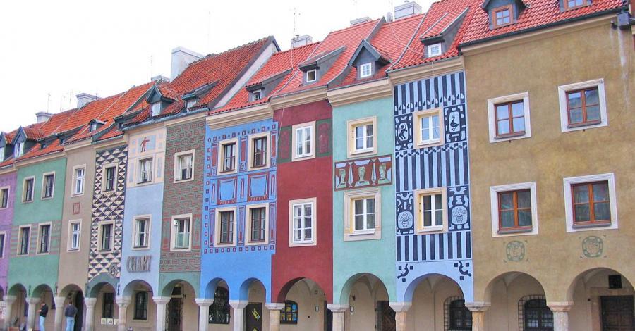 Domki budnicze w Poznaniu - zdjęcie