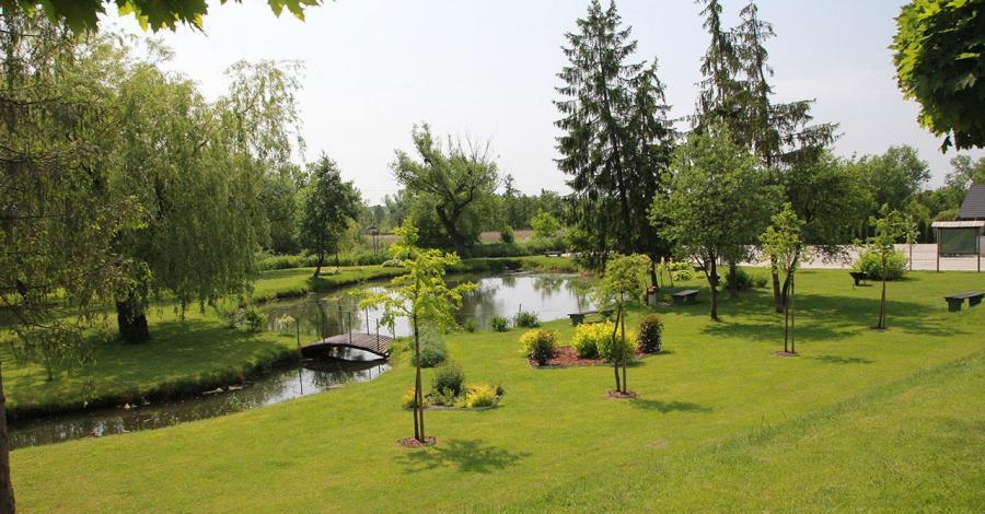 Park nad Wieprzem w Szczebrzeszynie - zdjęcie