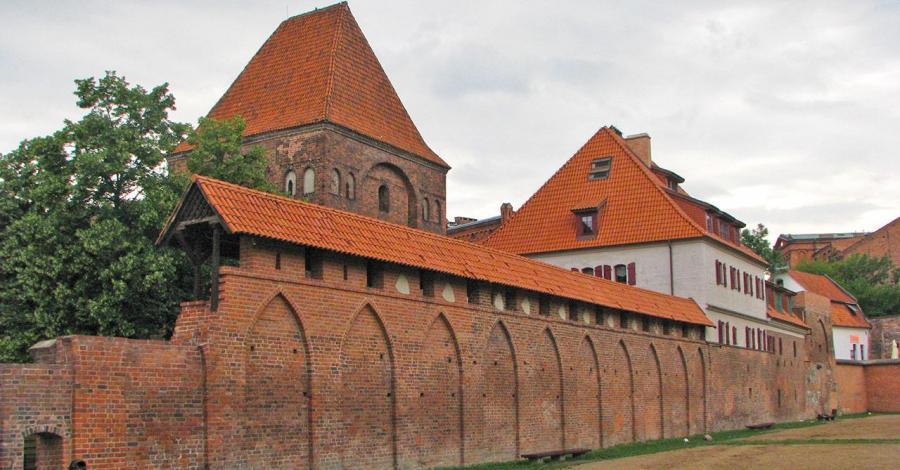 Zamek w Toruniu - zdjęcie