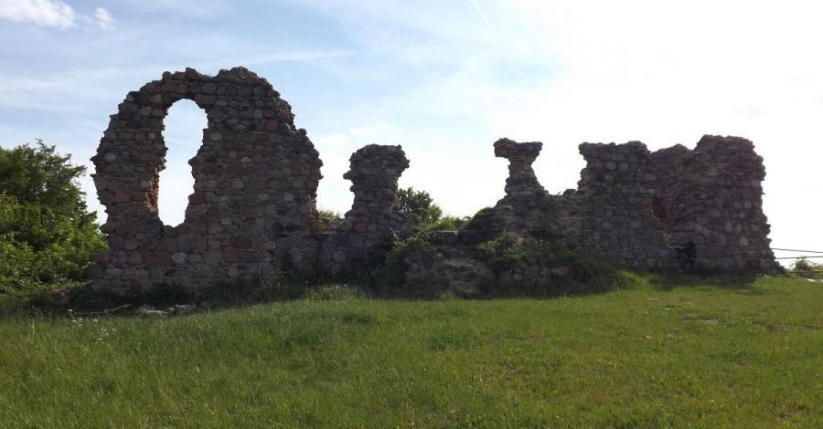 Zamek w Kurzętniku - zdjęcie