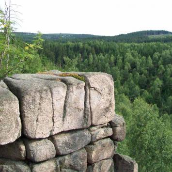 Kaplica Św. Anny- Szwedzkie skały - zdjęcie