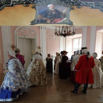 Festiwal Saski i bal Rokoko w Rydzynie i  na zamku w Rydzynie