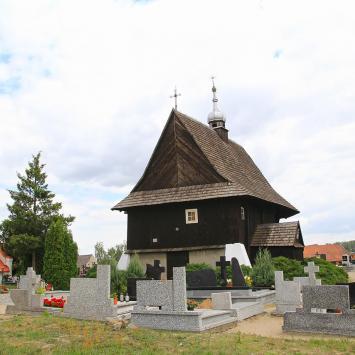 Drewniany kościół w Ołoboku