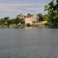 zamek na wyspie w Ełku