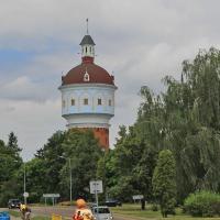wieża ciśnień w Ełku