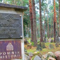 Kruszyniany mizar czyli muzułmański cmentarz