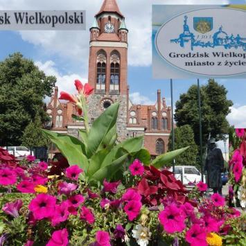 Grodzisk Wielkopolski, miasto z  zyciem - tradycje i  nowoczesność .