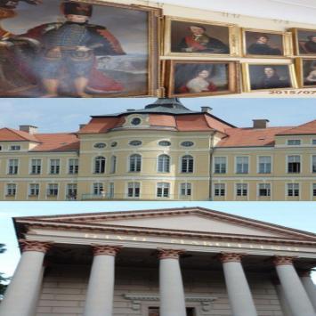 Rogalin - rezydencja Raczyńskich -odnowiony pałac ,muzeum ponownie otwarte