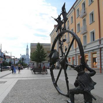 Pomnik Podróż w Białymstoku