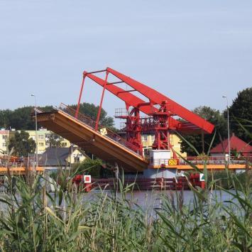 Most zwodzony w Dziwnowie - zdjęcie