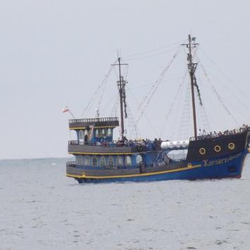 Statki wycieczkowe w Dziwnowie