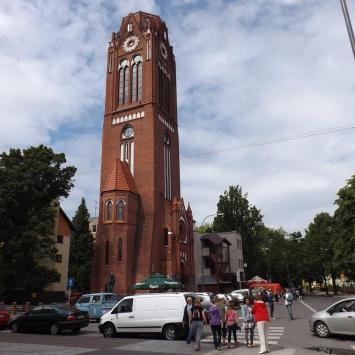 Świnoujście - wieża z restauracją i punktem widokowym