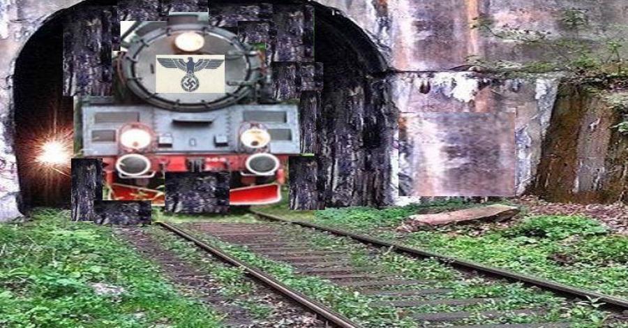 Dolny Śląsk - w poszukiwaniu historycznego pociągu ze złotem Wrocławia . - zdjęcie